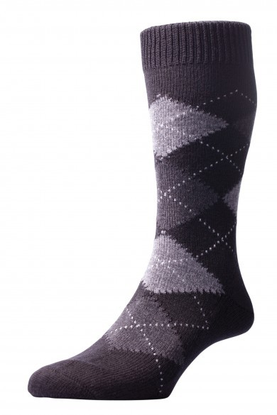 Pantherella Socks OTC - Argayle Black