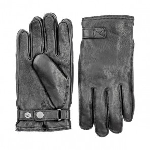 Hestra Gloves Deerskin Wool Terry - Black