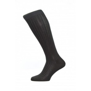 Pantherella Socks OTC - Rib Black