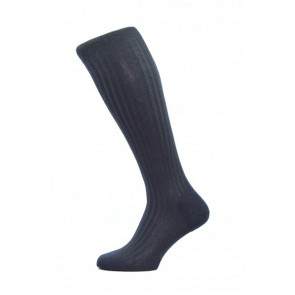 Pantherella Socks OTC - Rib Navy