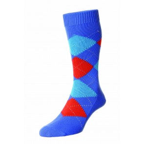 Pantherella Socks  - Blue Surf