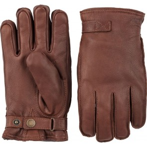Hestra Gloves Deerskin Wool Terry - Chestnut