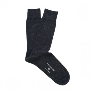 Profuomo Socks Cotton & Wool - Anthra
