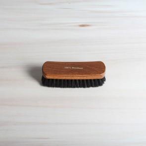 Large shine brush, 100% horsehair, dark or light