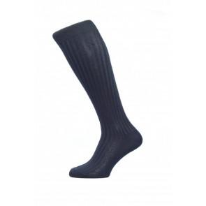 Pantherella Socks OTC - Rib Navy
