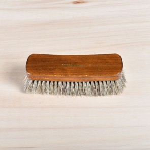 Large shine brush, 100% horsehair, dark or light